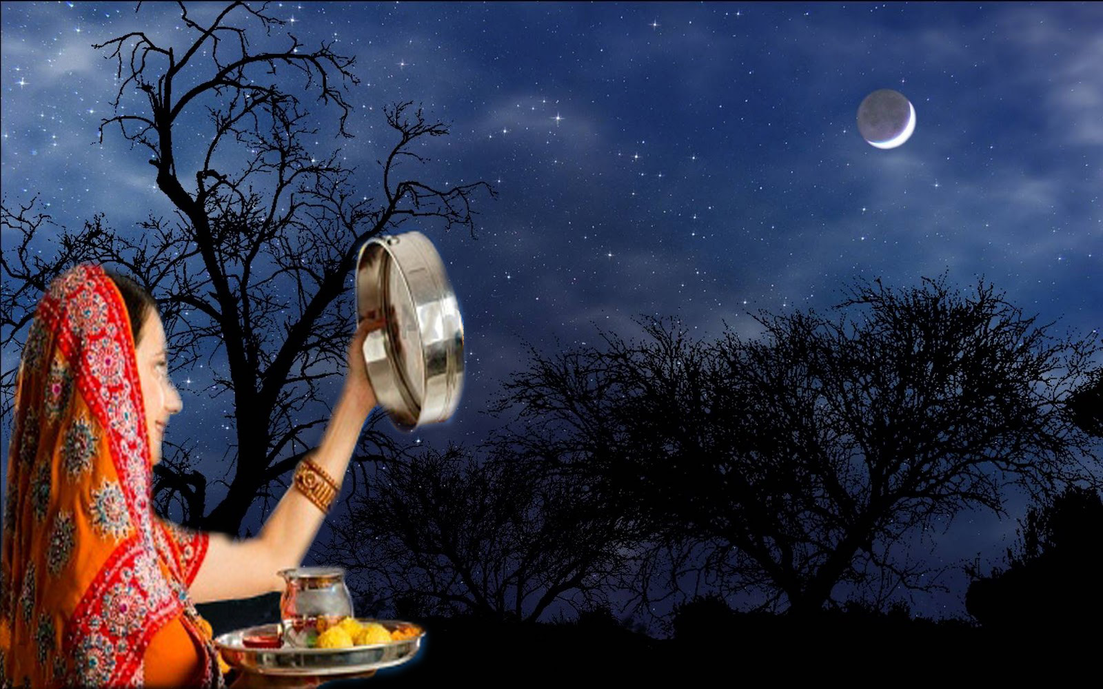 Beautiful Karwa Chauth Picturs for Free Download