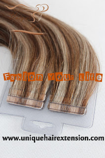 virgin remy tape weft extensions