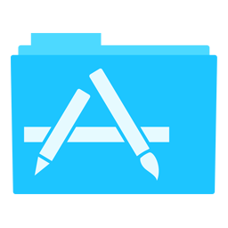 Preview of Mac os Appstore folder icon