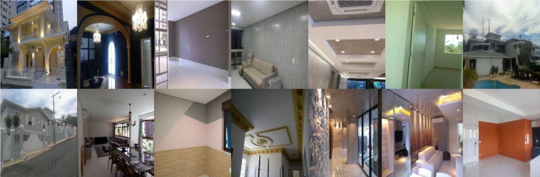 Fotos de casas pintadas BH