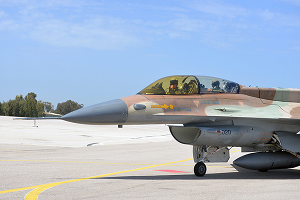 FIRST LOSS OF CONTROL IN-FLIGHT TEST ON ISRAELI F-16