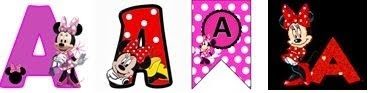 Minnie Alphabets