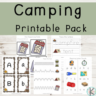 Camping-Preschool-kindergarten-Pack