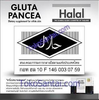 Gluta Pancea Pemutih Tubuh Halal