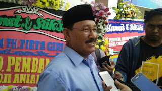 Walikota Cirebon Minta PDAM Bisa Layani Masyarakat 24 Jam  Air Bersih Tetap Ngucur