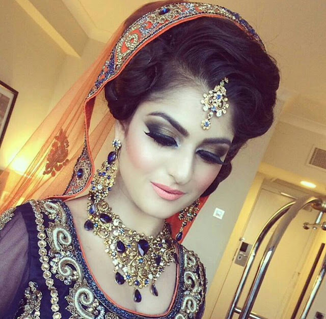 Simple Bridal Makeup 2017 : Different Eid Beautiful and Latest Makeup Ideas For Girls ...