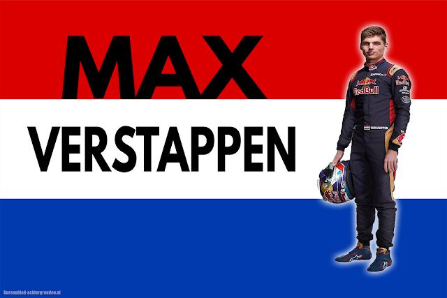Formule 1 Max Verstappen achtergrond