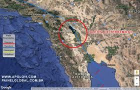 Um grande terremoto está sendo alertado na Califórnia