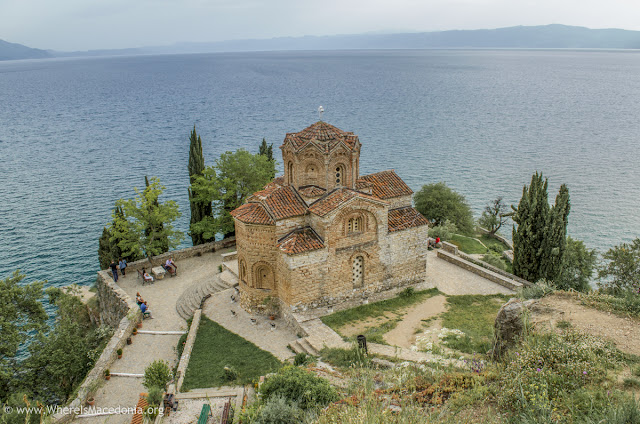 St. John Kaneo church on Ohrid Lake, Macedonia