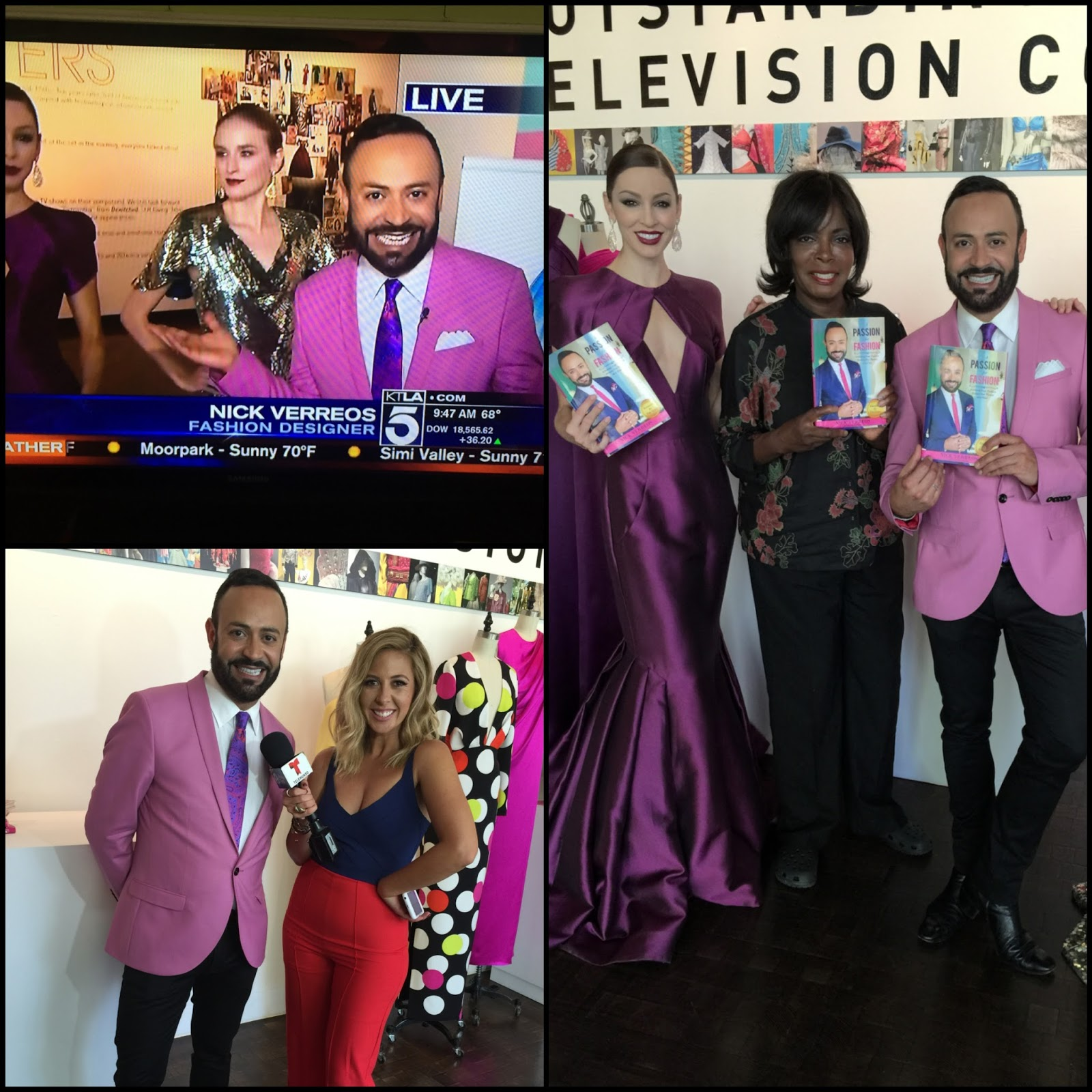 Nick Verreos: A PASSION FOR FASHION     TV Segments with KTLA