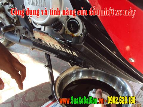 Công dụng và tính năng của dầu nhớt xe máy