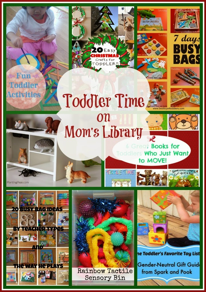Toddler Time on Mom's Library