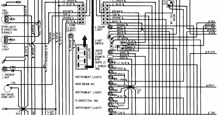 1968 ford 2000 farm tractor ignition switch wiring diagram 1968 corvette ignition switch wiring 1968 chevrolet corvette wiring diagram | all about wiring diagrams #14