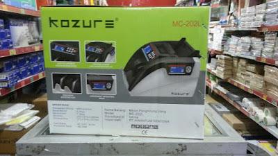 mesin hitung uang Kozure 202L kemasan baru