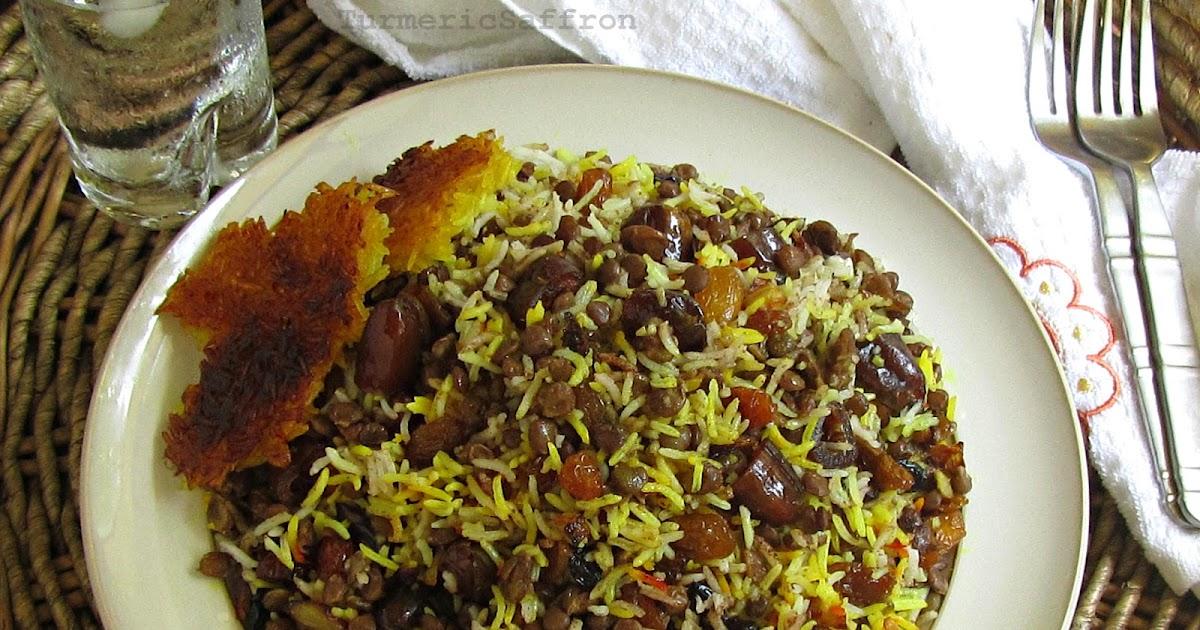 Turmeric & Saffron: Adas Polow - Rice with Lentils
