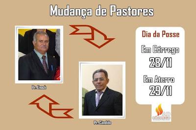 Assembleia de Deus receberá novo Pastor