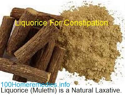 licorice stick and powder