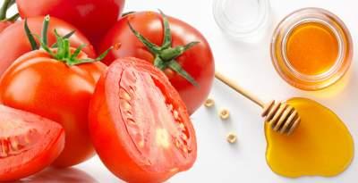 Manfaat Menggunakan Tomat Dan Madu Untuk Wajah Berjerawat