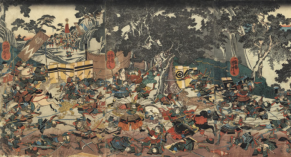 Onin War in Japan