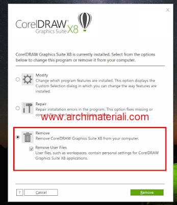 Mengatasi CorelDraw X8 Tidak Bisa Save, Export dan Print