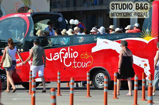 Δωρεάν το λεωφορείο «Nafplio City Tour» για τις παραστάσεις του 26ου Μουσικού Φεστιβάλ Ναυπλίου στο Παλαμήδι
