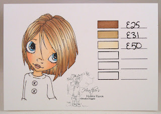 Heather's Hobbie Haven - Copic Marker Hair Color