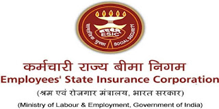ESIC Clerk Recruitment 2019 Notification