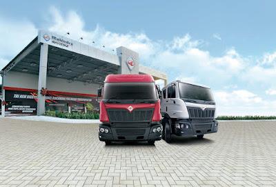 Mahindra Truck And Bus Mahindra Navistar Route To