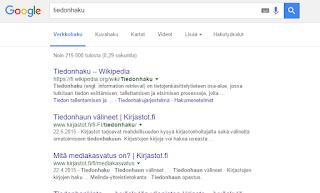 Googlen perushaku