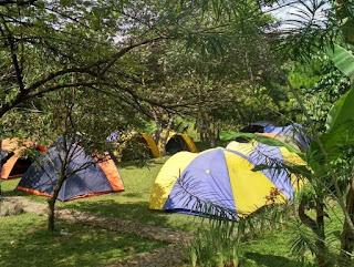 Paket Camping Murah di Villa Roso Mulyo Sentul