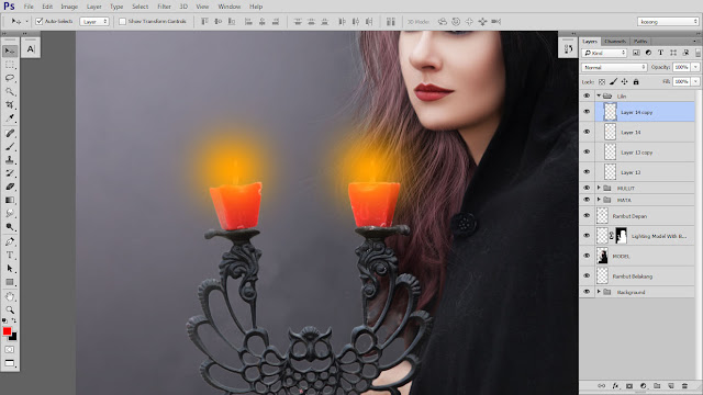 36 Design cover buku Novel dengan Photoshop CC part2