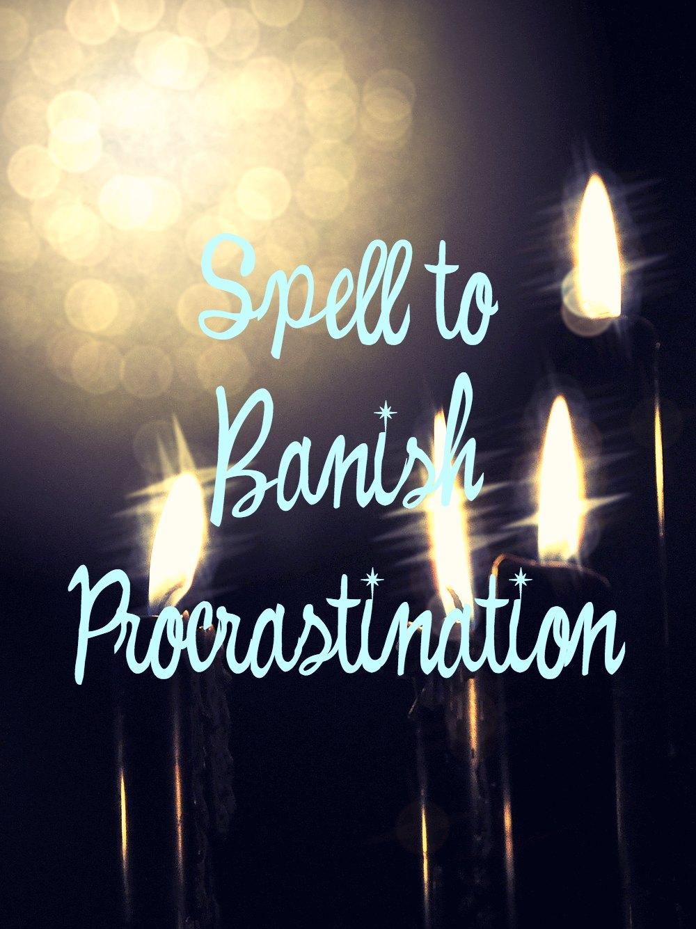 Spell to overcome procrastination