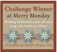 Challenge Winner at Merry Monday