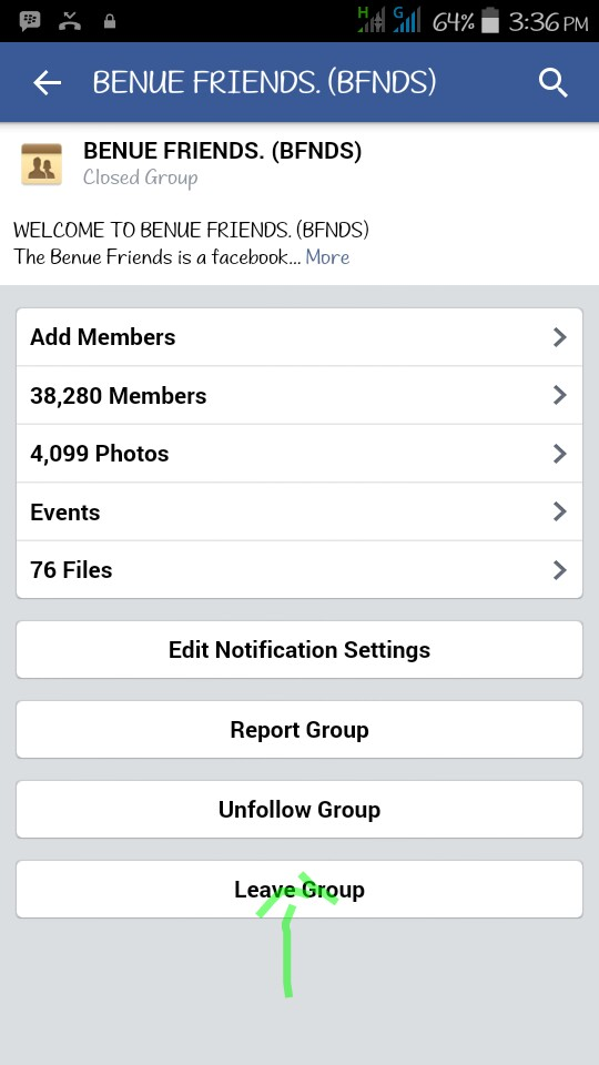 Android Joint: How To Leave Facebook Groups