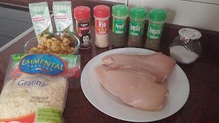Ingredientes pollo picante