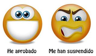 Curso -Emoticonos - Aprobado - Suspendido