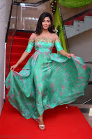 Anisha Ambrose sizzles in cute Green Anarkali Dress at Fashion TV F Club Saloon Launch ~  Exclusive 003.JPG
