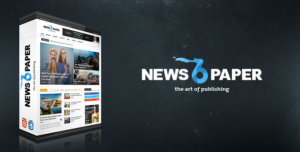 Free Download Newspaper V6.6.3 Responsive Wordpress News/magazine Theme
