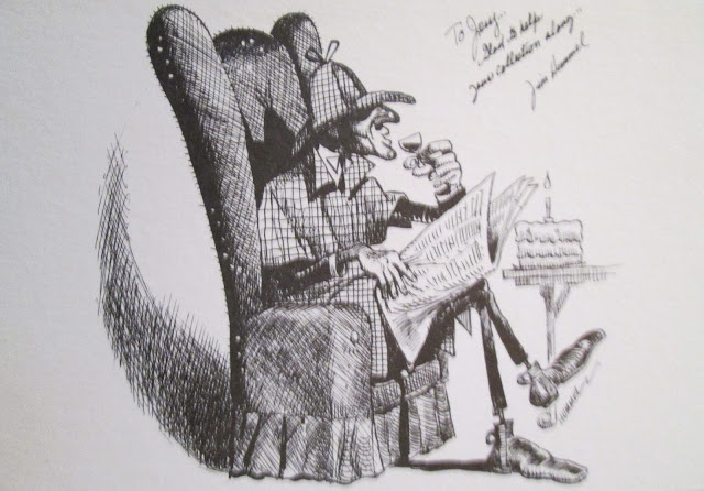 Happy birthday, Sherlock Holmes by Jim Hummel