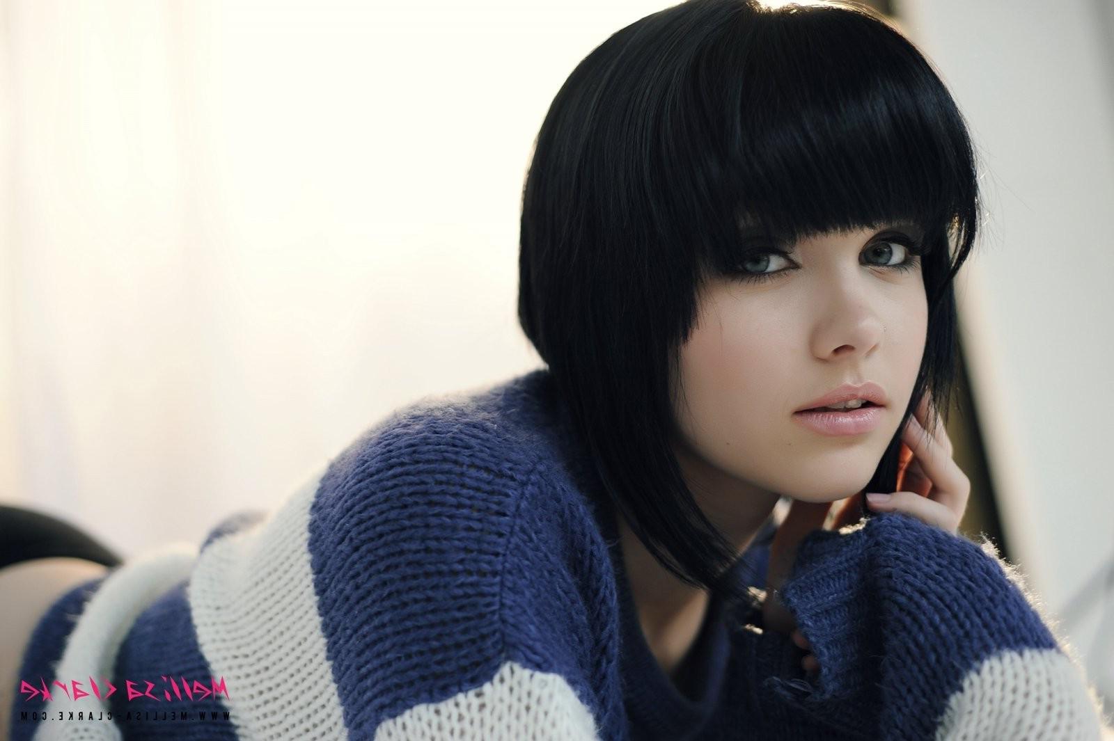 Cute goth girl