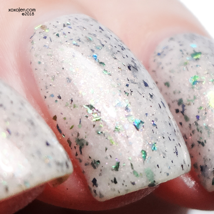 xoxoJen's swatch of Sweet Heart Polish for Polish Pick Up: Sometimes, Dead Is Better