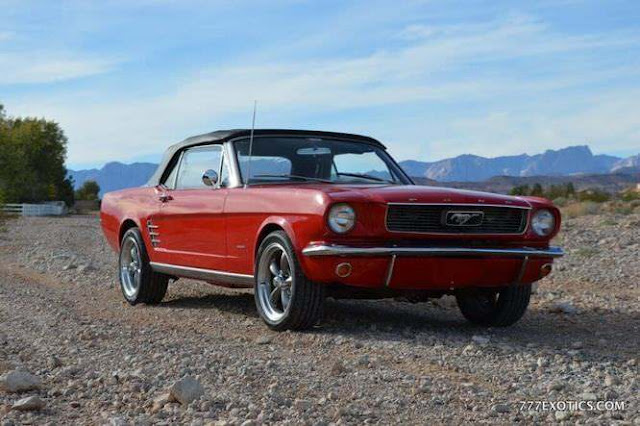 Classic Ford Mustang Rental