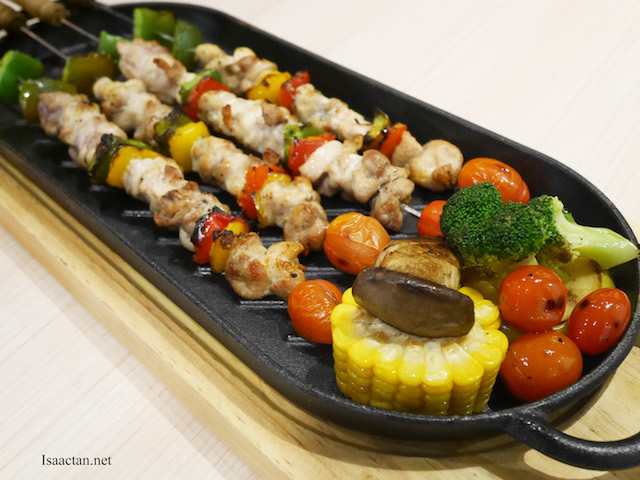 Chicken Skewer With Massaman Sauce - RM32.90