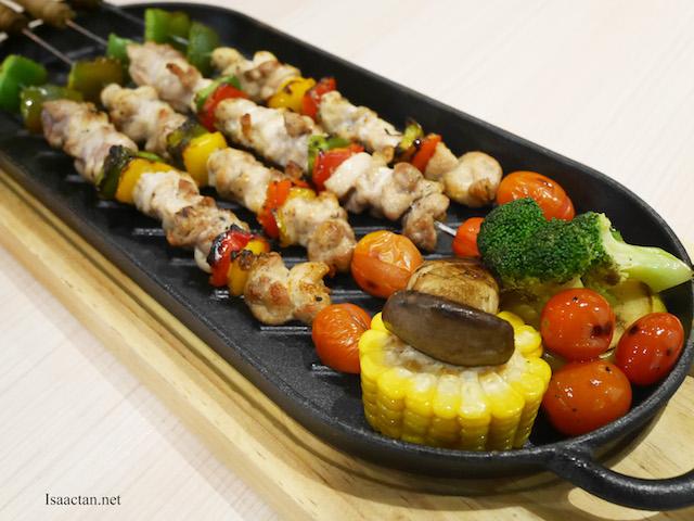 Chicken Skewer With Massaman Sauce - RM32.90