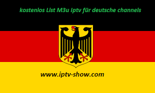 Frei List Iptv M3u für channels Deutsche Update 16/12//2018