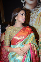Shriya Saran Looks Stunning in Silk Saree at VRK Silk Showroom Launch Secundrabad ~  Exclusive 047.JPG