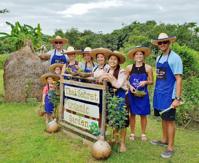Thai Secret Cooking Class & Organic Garden