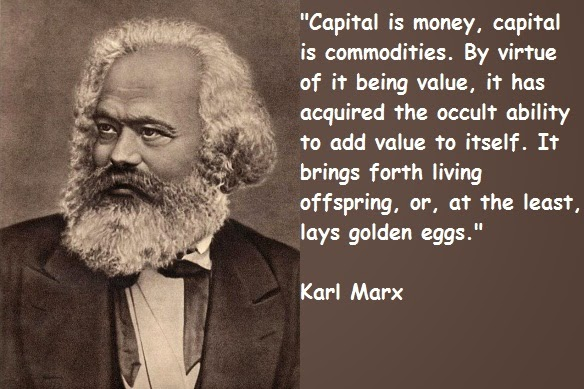The nature of capitalism by marx
