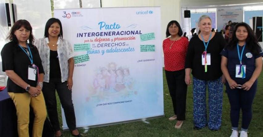 MINEDU participa en diálogo intergeneracional por los derechos de niñas y adolescentes - www.minedu.gob.pe