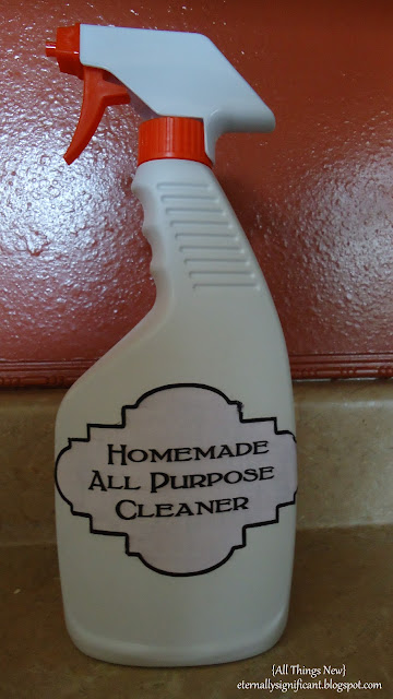 homemade all purpose cleaner all things new diy all purpose cleaner 31662